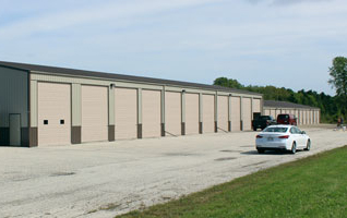 Extra Large Driveways for Easy Access to Storage Units